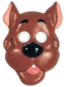 [Scooby-Doo PVC Mask Dog Hanna Barbera Fancy Dress Halloween Costume Accessory] (Scooby Doo Halloween Costumes Adults)