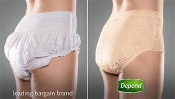 Depend For Women Underwear S/M 80 Count 【大人用おむつ女性用】【パンツタイプ】パンツ しっかりガード長時間 ◆S-M (アメリカサイズ)80枚 《並行輸入》