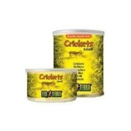 Exo Terra Reptiles Canned Food, Small Crickets,