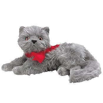 Ty Beanie Babies - Beani the Gray Cat - 1