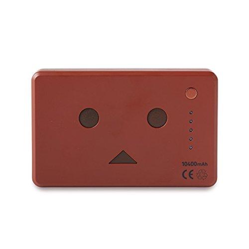 cheero Power Plus 10400mAh DANBOARD Version - FLAVORS - (chocolate) 大容量 モバイルバッテリー [ 高品質Sanyo/Panasonic電池搭載 ]  iPhone 6 6Plus 5s 5c 5 / iPad / Android / Xperia / Galaxy / 各種スマホ / タブレット / ゲーム機 / Wi-Fiルータ 等 急速充電 対応