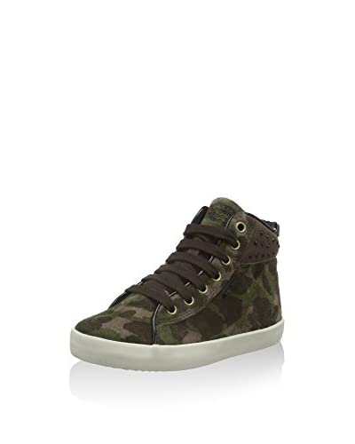 Geox Sneaker Alta Jr Kiwi Girl C  [Verde]