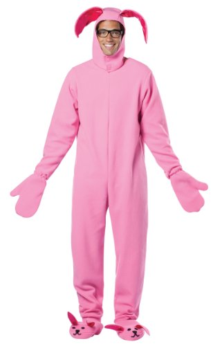 Lets Party Christmas Story Bunny Suit Adult Costume - One size