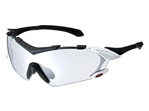 オージーケー(OGK) SUNGLASS コラッツァⅡ・フォトクロミック (NXT調光レンズ) サングラス マットブラックホワイト