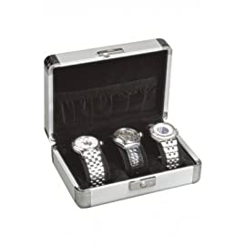 Orbita Lugano Anodized Aluminum 3 Collectors Watch Case