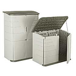 Plastic Indoor/Outdoor Storage Sheds