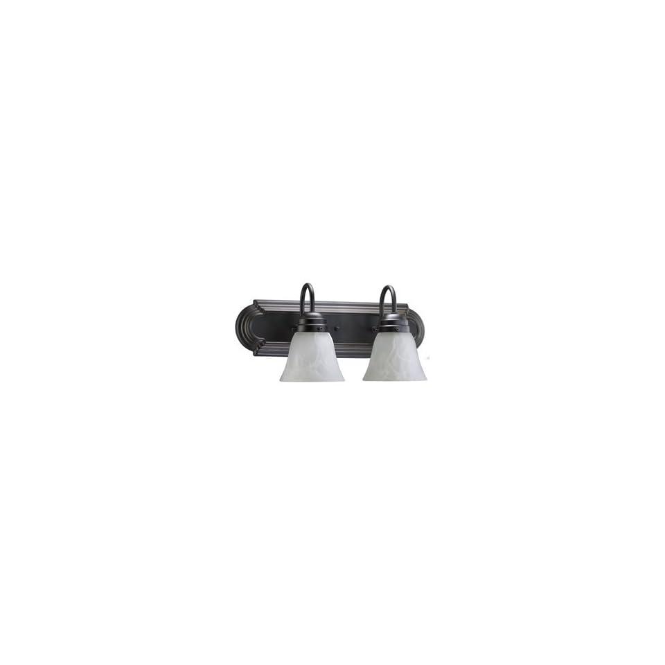 Quorum International 5094 6 195 6 Light Faux Alabaster Bathroom