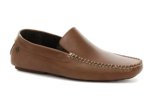Cheap Base London Jenson Tan Mens Slip On Shoes (B005NYSH26)