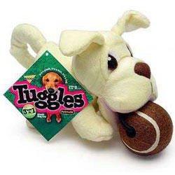 Booda Tuggles Labrador Retriever 3 in 1 Dog Chew Toy