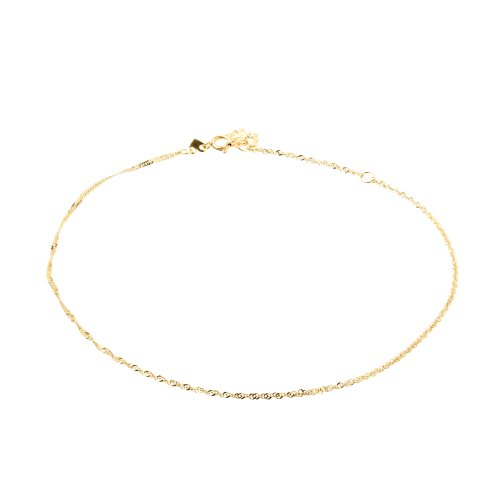 Duragold 14k Yellow Gold Sparkle Singapore  Butterfly