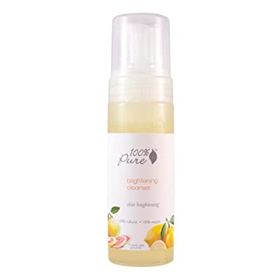 Best Cheap Deal for 100% Pure Brightening Cleanser, 6 Ounce by Buy Smart LLC - Free 2 Day Shipping Available