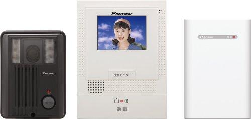 【Amazonの商品情報へ】Pioneer  カラーTVドアホンセット  TF-TS2