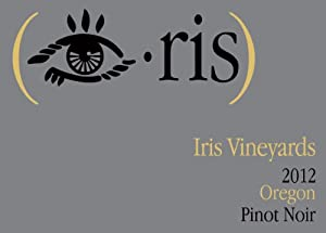 2012 Iris Vineyards Oregon Pinot Noir 750 mL
