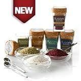 Limited Edition Fusion Salt Sampler w/3 bowls - Gourmet