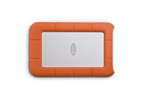 LaCie 1.5TB Rugged Mini USB 3.0 Mobile Hard Drive with Shock Protection 9000193 (Orange)
