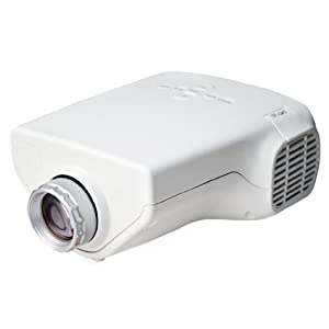 Mini 1080p hd multimedia led projector home for Hd projector amazon