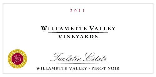 2011 Willamette Valley Vineyards Tualatin Estate Vineyard Pinot Noir 750 Ml