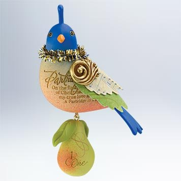 Partridge In A Pear Tree #1 2011 Hallmark Ornament - QX8919