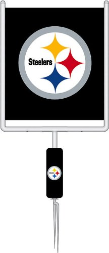 NFL Pittsburgh Steelers Goal Post One-Sided Flag - Black