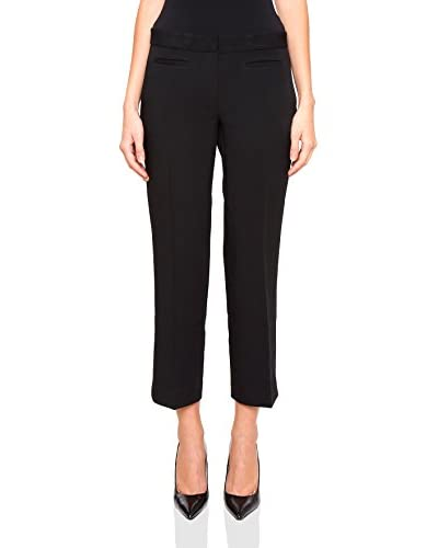 Michael Kors Pantalone Stretch Crop Flare Trousers [Nero]
