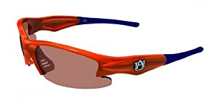 Buy NCAA Auburn Tigers Dynasty Sunglasses with Bag, Orange and Blue, Adult by Maxx