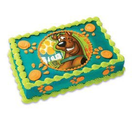 Cake Images Edible : Amazon.com: Scooby Doo Edible Cake Topper: Kitchen & Dining