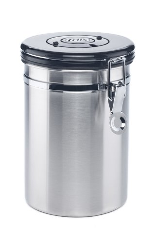 Friis 16-Ounce Coffee Vault, Stainless Steel