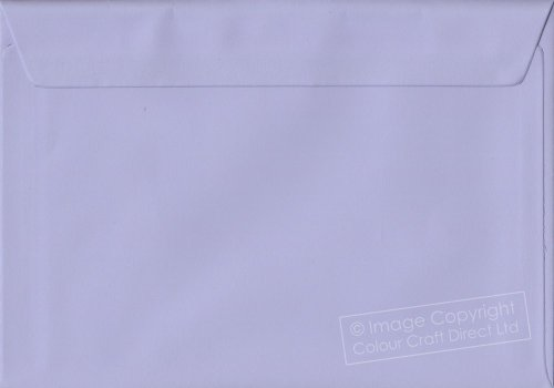 Premier Envelopes Pastel Lilac C5 - 162 Mm X 229 Mm 100Gsm Peel And Seal Envelope (Pack Of 100)