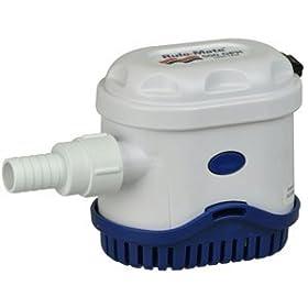 Rule RM500A Marine Rule-Mate 500 Marine Bilge Pump (500-GPH, 12-Volt)