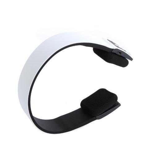 Iwoo Bluetooth Wireless Binaural Headphones Headsetson-Ear Hifi Stereo Earphone Headphone For Audio Pc Pad Mp3 Mp4 Cell Phone Computer Pc (White)
