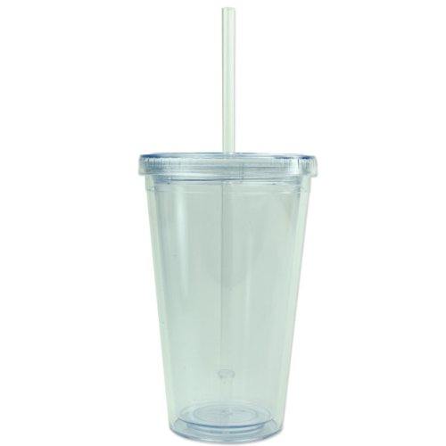 Custom Tumblers With Straw front-1048281