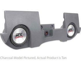 MTX ThunderForm DRQC20T-T45 Tan Dodge Ram Quad Cab Box w/Subs