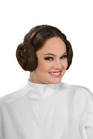 Rubie's Costume Women's Star Wars Princess Leia Headband, Brown, One Size