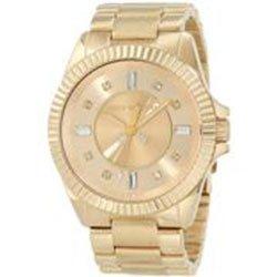 JUICY COUTURE 1900929 - Orologio da polso donna, acciaio inox, colore: oro