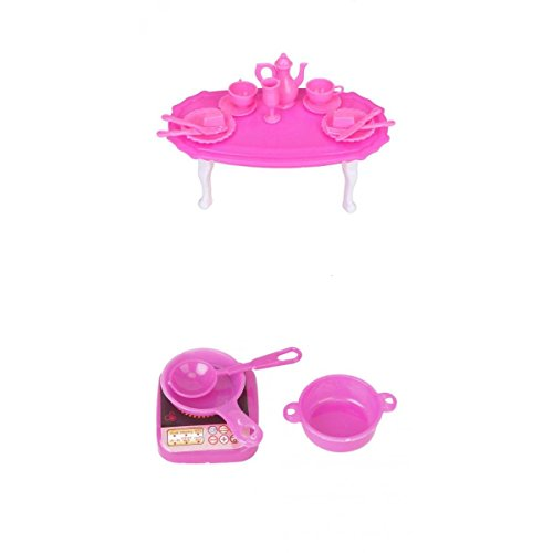 Imported Doll House Dining Table Room Table For Barbie Doll Kitchen