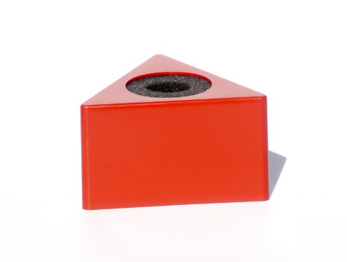 Mic Flag Triangle Red Microphone Flag