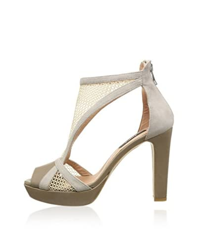 Zinda Sandalo Con Tacco [Avorio]