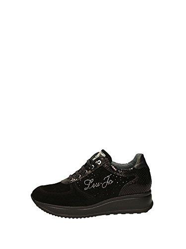 Liu Jo Girl UB21656 Sneakers Zeppa Donna Nero 39
