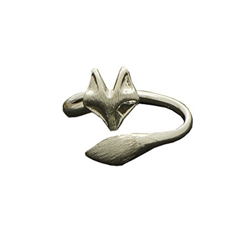 Twisted Fox Ring Fox Tail Ring Cute Ring Unique Ring Womens Ring
