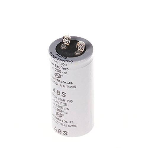 Generic 250V Abs 1200Uf Cylinder Electric Ac Motor Run Start-Up Capacitor