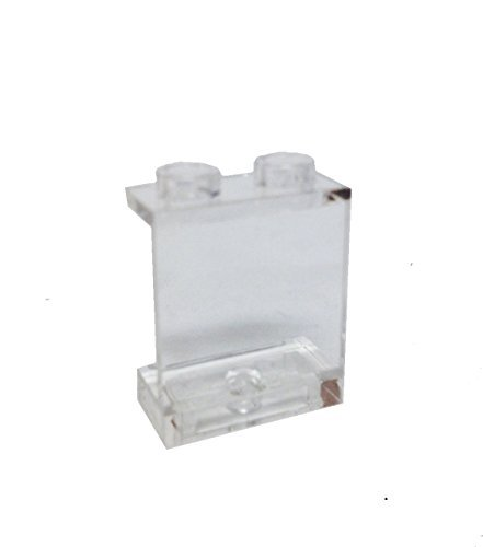 Lego Parts: Panel 1 x 2 x 2 - Hollow Studs (Transparent Clear) by Parts/Elements - Panels