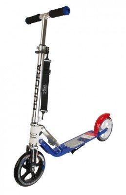 City Scooter Big Wheel Hudora Alu 8 Zoll 205 rot/blau/weiss 205mm 2986092960