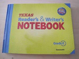 Texas Reader's & Writer's Notebook - Grade K