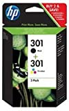 Ink Cartridge, Hp301 Combo 2 Pack
