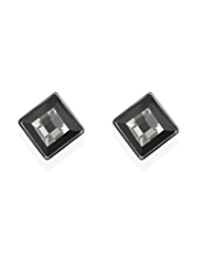 M&S Collection Disco Square Stud Earrings
