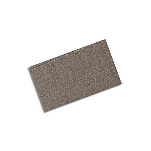 "Tapecase 3M Cn3490 1.5"" X 1.25""-100 Gray Non-Woven Conductive Fabric Tape, 1.25"" Length, 1.5"" Width, Rectangles (Pack Of 100)"