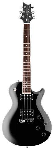 PRS SE Mark Tremonti Black Electric Guitar w/ Bird Inlay