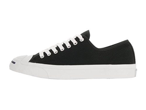Converse Jack Purcell Canvas Low Top Sneaker Black 7.5 M US Men / 9.5 M US Women