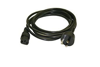 Interpower 86210030 Australian AC Cord Set, AS/NZS 3112:2000 Plug Type, IEC 60320 C13 Connector Type, Black Plug Color, Black Cable Color, 10A Amperage, 250VAC Voltage, 2.5m Length