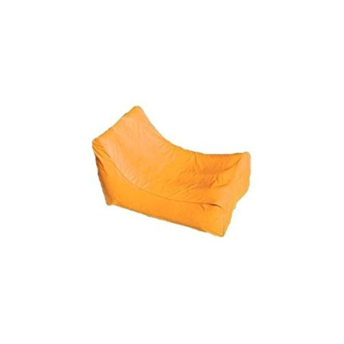 New Solstice 15010O SunSoft Fabric Orange Inflatable Lounge Chair Pool Float